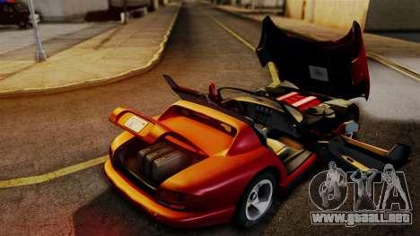 Dodge Viper RT 10 1992 para la visión correcta GTA San Andreas