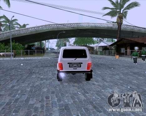 VAZ 2121 Niva 4x4 para la visión correcta GTA San Andreas