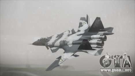 SU-47 Berkut Grabacr Ace Combat 5 para GTA San Andreas left