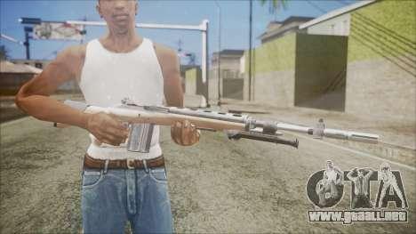 M14 from Black Ops para GTA San Andreas tercera pantalla
