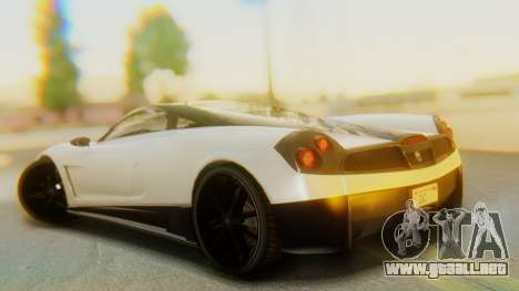 GTA 5 Pegassi Osiris IVF para GTA San Andreas left