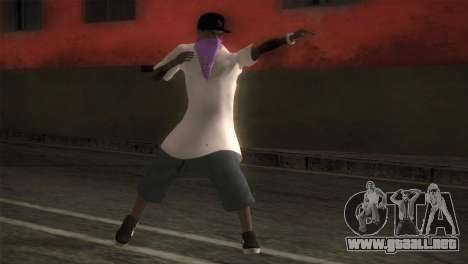 East Side Ballas Member para GTA San Andreas