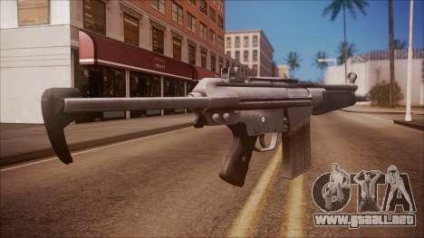 HK-51 from Battlefield Hardline para GTA San Andreas segunda pantalla