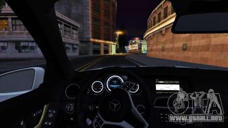 Mercedes-Benz C63 AMG 2013 para el motor de GTA San Andreas