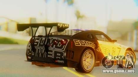 Nissan GT-R GT1 Sumo Tuning para GTA San Andreas left