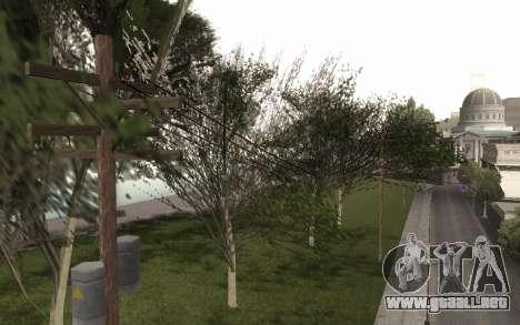 Una copia de la original de los árboles para GTA San Andreas