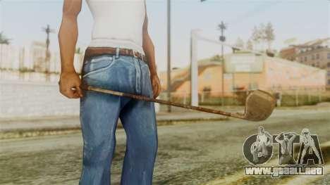 Golf Club from Silent Hill Downpour para GTA San Andreas segunda pantalla