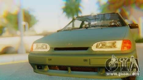 VAZ 2113 Stoke para GTA San Andreas vista hacia atrás