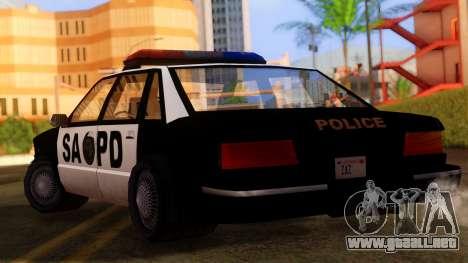 Police SA Premier para GTA San Andreas left