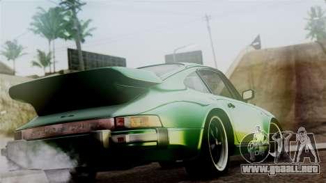 Porsche 911 Turbo (930) 1985 Kit A PJ para GTA San Andreas left