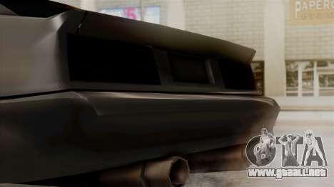 Buffalo New Edition para la visión correcta GTA San Andreas