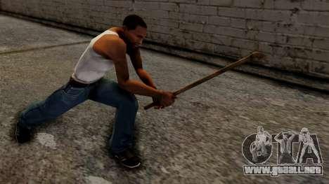 Steel Pipe para GTA San Andreas tercera pantalla
