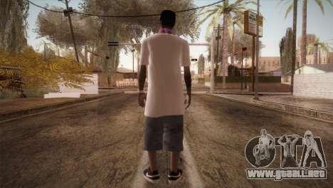 East Side Ballas Member para GTA San Andreas tercera pantalla