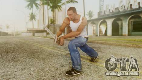 Iron Dagger para GTA San Andreas tercera pantalla