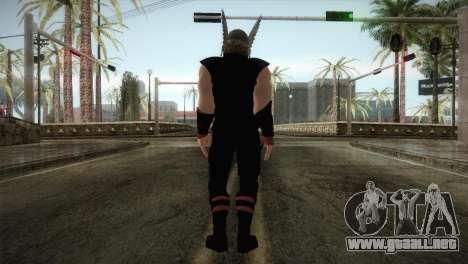 Thor Custom Skin para GTA San Andreas tercera pantalla