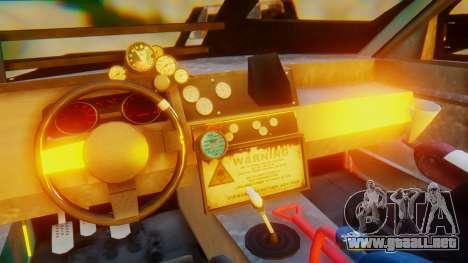 Shelby GT500 Death Race para visión interna GTA San Andreas