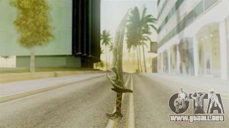 Orcish Dagger para GTA San Andreas segunda pantalla