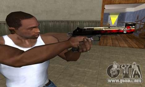 Totenkopf Deagle para GTA San Andreas tercera pantalla