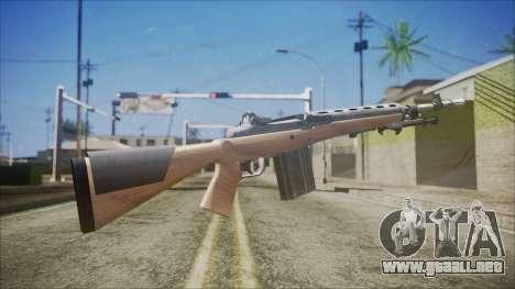 M14 from Black Ops para GTA San Andreas segunda pantalla