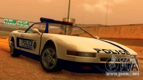 Police Infernus para GTA San Andreas