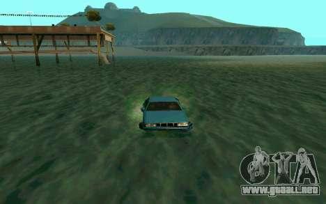 Cars Water para GTA San Andreas tercera pantalla