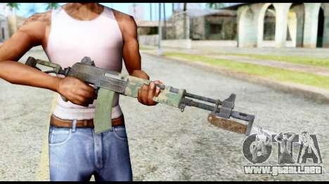 AK-47 from Resident Evil 6 para GTA San Andreas tercera pantalla