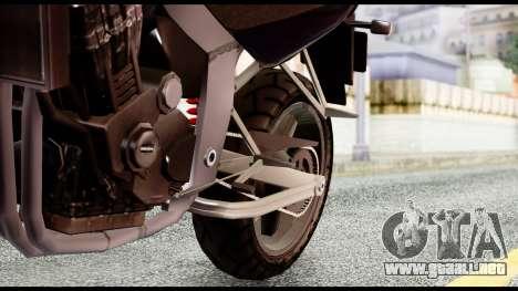 Ducati FCR-900 v4 para la visión correcta GTA San Andreas