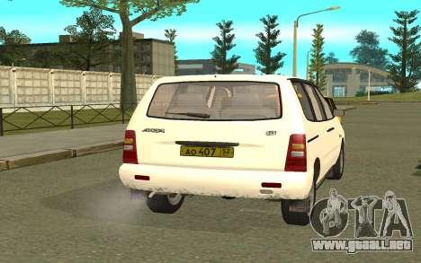 VAZ 2120 para GTA San Andreas left