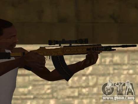 Marksman Rifle para GTA San Andreas