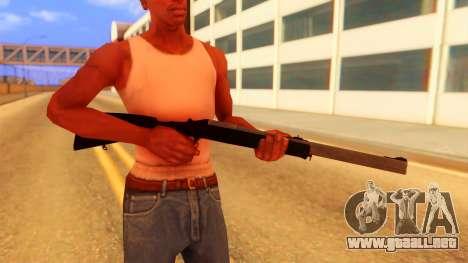 Atmosphere Rifle para GTA San Andreas tercera pantalla