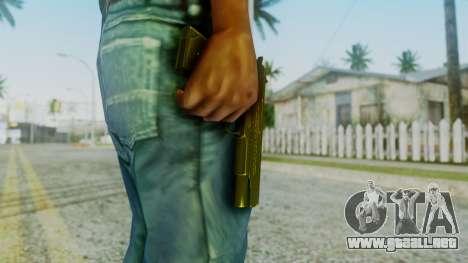 M1911 Pistol para GTA San Andreas tercera pantalla