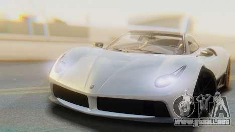GTA 5 Pegassi Osiris IVF para GTA San Andreas vista posterior izquierda