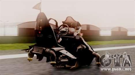 NRG Moto Jet Buzz Dirt Model para GTA San Andreas left