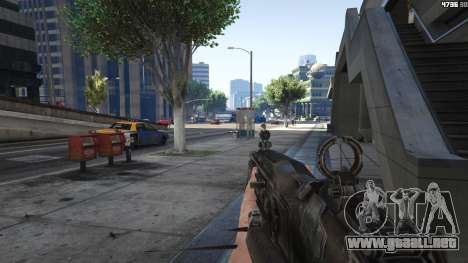 GTA 5 Gears of War Lancer 1.0.0 quinta captura de pantalla
