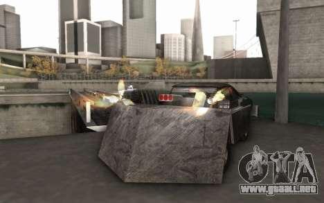 Dodge Charger Infernal Bulldozer para la visión correcta GTA San Andreas