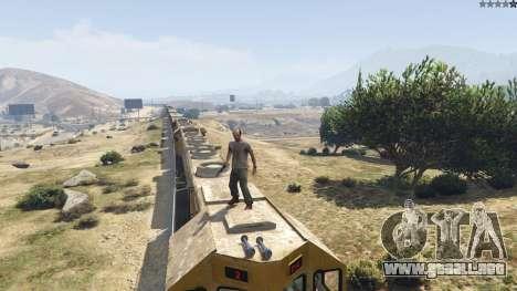 Improved freight train 3.8 para GTA 5
