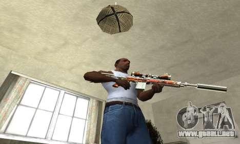 Sniper Fish Power para GTA San Andreas tercera pantalla