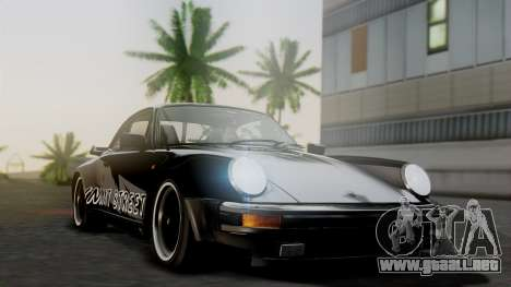 Porsche 911 Turbo (930) 1985 Kit A para visión interna GTA San Andreas
