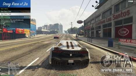 GTA 5 Drag Race 1.2a séptima captura de pantalla