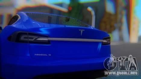 Tesla Model S para visión interna GTA San Andreas