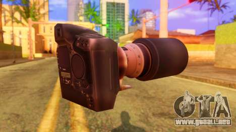 Atmosphere Camera para GTA San Andreas segunda pantalla