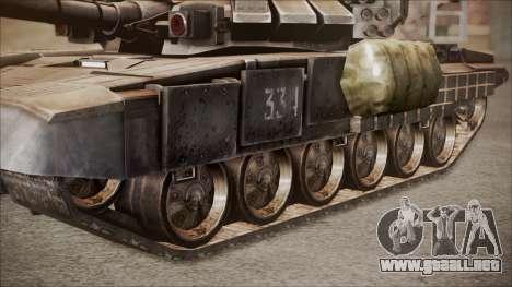 T-90A BF4 para la visión correcta GTA San Andreas