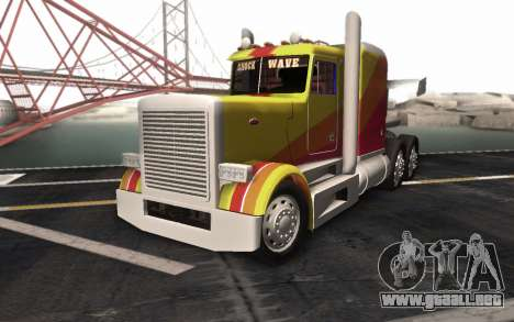 ShockWave Jet Truck para GTA San Andreas