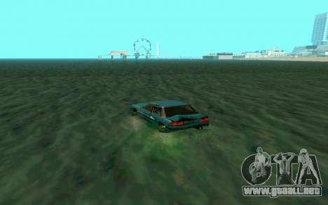 Cars Water para GTA San Andreas sucesivamente de pantalla