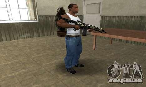 Kaymay M4 para GTA San Andreas tercera pantalla