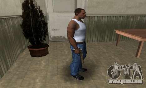 Brown Jungles Deagle para GTA San Andreas tercera pantalla
