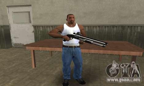Member Shotgun para GTA San Andreas segunda pantalla