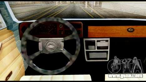 Ford Taunus 2.3 para GTA San Andreas vista posterior izquierda