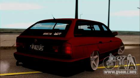 BMW M5 Touring E34 para GTA San Andreas left