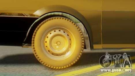 Volkswagen Santana Gz para GTA San Andreas vista posterior izquierda